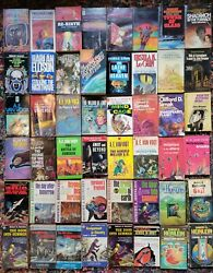 Vintage Science Fiction amp; Fantasy Paperback Lot of 350 Sci Fi Many 1st printings $1050.00