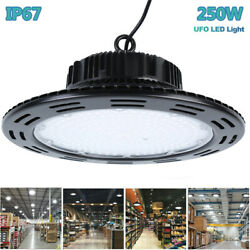 250W UFO Led High Bay Light Led Commercial Industrial Factory Warehouse Lighting