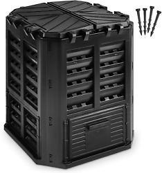 Garden Composter Bin Made from Recycled Plastic – 95 Gallons 360Liter Large Bin $94.58
