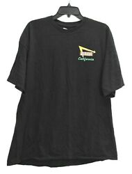 In N Out Burger Mens In N Out Burger California Crew Neck Cotton T Shirt XXL $20.99