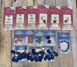 Jewelry Making Lot Supplies Darice DIY Charms Beads Variety Pack Huge Large Kits $13.99