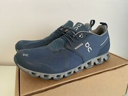 ON Running Women On Cloud Waterproof. Blue Size 11. New without Original Box $115.00