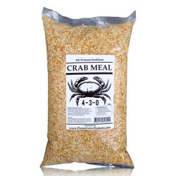 Crab Meal Organic Crab Meal Fertilizer Crab Shell in BULK 5 pounds $17.95
