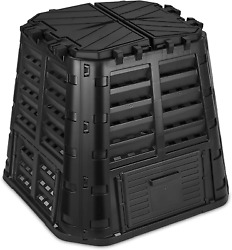 Garden Composter Bin Made from Recycled Plastic – 110 Gallons 420Liter Large Bin $134.01