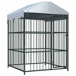 Outdoor XXL Large Dog Kennel Pet Crates House Cage 59.1quot;x59.1quot;x82.7quot; Heavy Duty $621.99