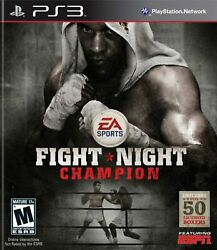 Fight Night Champion For PlayStation 3 PS3 Fighting 4E $23.22