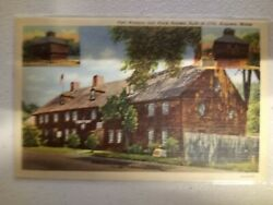 Fort Western and Block Houses Built 1754 Augusta Maine $2.15