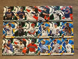 2021 TOPPS FIRE BASE PICK YOUR CARD COMPLETE YOUR SET $1.79