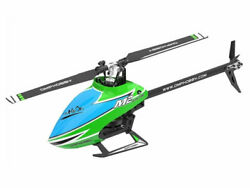 OMPHOBBY M2 Explore Electric Helicopter Crystal Green : OSHM M2E CG $387.37