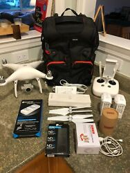 DJI Phantom 4 Pro Drone Never been activated with Backpack and Extras $1199.99