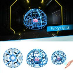 Mini Drone Hand Operated UFO Levitation LED RC Helicopter Flying Toys Kids Gift $9.99