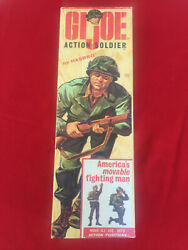 GIJoe Action Soldier Vintage with box and more. $250.00