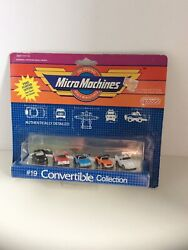 Micro Machines #19 Convertible Collection Vintage Galoob #6400 $25.00