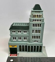 Vintage Galoob 1989 Micro Machines Police Station Building untested $13.99