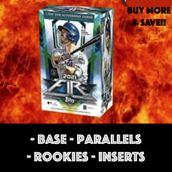2021 Topps Fire Base Inserts Parallels Rookie You Pick Buy More amp; Save $1.49