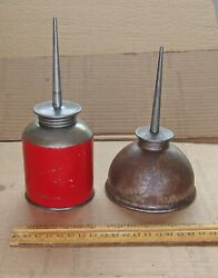 Red Oil Can another oil can Vintage $19.95