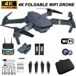 2021 New 4K HD Quad Air Drone Camera Foldable Portable Quadcopter RC Toy Gift $59.98