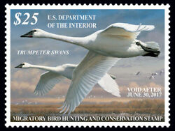 2016 — RW83 Federal Duck Stamp $65.00