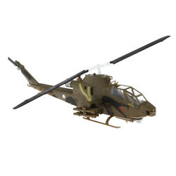 Model Toy Helicopter Attack Artwork Ornament for Desk Shelf And Tabletop $26.38