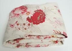 Shabby Chic WAVERLY Garden Room Norfolk Vintage Rose CAL KING Fitted Sheet $49.00