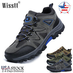 Mens Hiking Sneakers Outdoor Nonslip Mesh Shoes Trekking Trail Camping Boots 12 $33.97