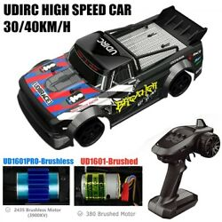 1:16 RC Racing Car 4WD Drift Car 40KM H Brushless High Speed Remote Control Car $99.98