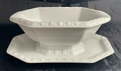 Rosenthal MARIA White Gravy Boat with Attached Underplate $34.99