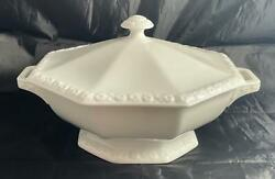 Rosenthal MARIA White Octagonal Covered Vegetable Serving Bowl Germany $59.99
