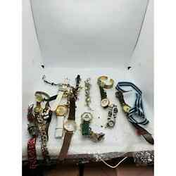 Men amp; Womens Wholesale Watch Lot 19 Watches Modern For Parts Repair Lot 11 $227.00