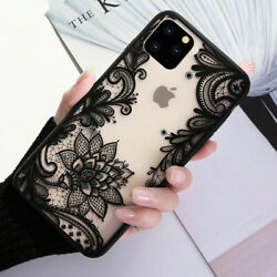For iPhone 13 Pro Max 12 11 8Plus X XR Mandala Lace Flower Cute Phone Case Cover $7.95