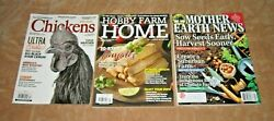 Mixed Lot HOBBY FARM Home Chickens 2021 2022 Brand New Free USA Shipping $11.00