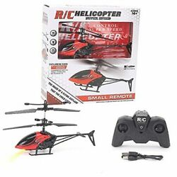 Durable Remote Control Helicopter Toys Mini RC Helicopter for Kids 2 Channel $30.36