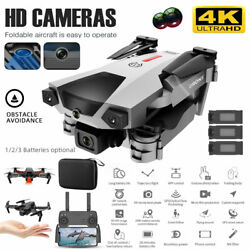 4K WiFi Quadcopters 4 axis RC Drone Infrared Quadcopter Dual Camera 3 Batteries $58.99