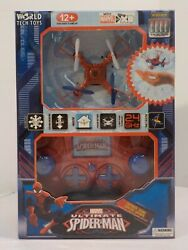 WORLD TECH TOYS Marvel Ultimate Spider Man Micro Drone $19.99