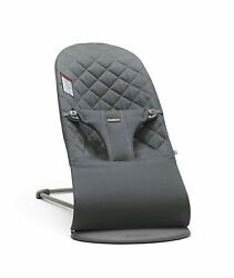 Baby Bjorn Bouncer Bliss Anthracite Cotton New in Open Box *Read $174.95