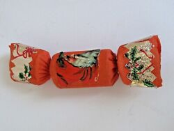 Antique Crepe Paper with Santa Sticker Package similar to a Party Popper $35.00