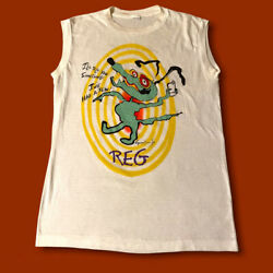 Vintage Roger Waters Shirt Pink Floyd Pros amp; Cons Of Hitchhiking 70s 80s Rare $115.00