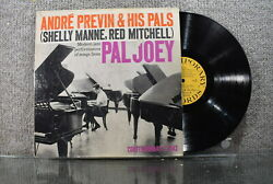 André Previn quot;Modern Jazz Performances Of Songs From Pal Joeyquot; Contemporary LP $5.99