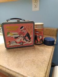 Vintage 1973 Raggedy Ann and Andy Vintage Metal Lunch Box With Thermos $45.00