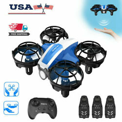 Holy Stone HS330 Hand Operated Mini Drone Quadcopter helicopter Gift 3 batteries $26.99