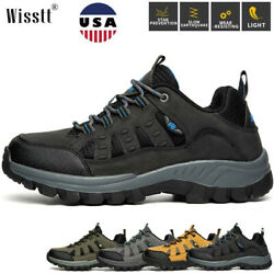 Mens Camping Workout Trekking Trail Boots Shoes Outdoor Hiking Fishing Sneakers $29.99