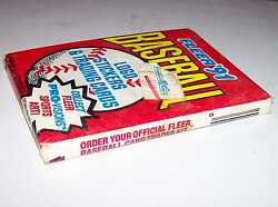 UNOPENED 1991 FLEER'91 BASEBALL LOGO STICKERS & TRADING CARD PACKAGE PRO-VISIONS $10.00