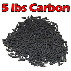 Activated Carbon For Pond Aquarium Canister Filter Sump Mesh Bag Inlcuded 5 Lbs $13.24