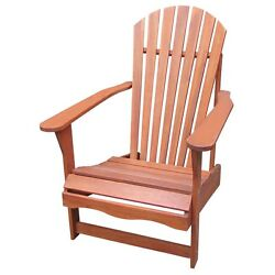 SOLID ACACIA  TEAK ADIRONDACK CHAIR - *NATURAL OILED*