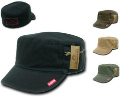 Rapid Dominance French Round Bill Fatigue Cadet Military Army Caps Hats $14.95