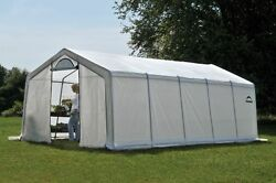 ShelterLogic 12x20 Greenhouse Peak Organic Pro Series Portable Greenhouse 70590