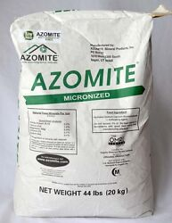 2 44lb Bags AZOMITE 88lbs Organic Trace Mineral Powder Volcanic Rock Dust $130.00