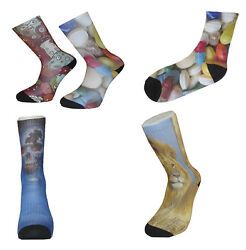 Personalise Your Socks with Any Design Great Novelty Socks Mens Ladies Socks GBP 19.50