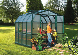 Rion Prestige 2 Twin Wall - 8' x 8' Greenhouse By Poly-Tex Model # HG7308