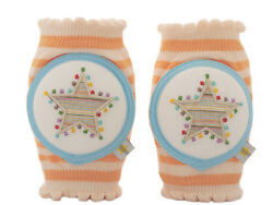 Crawlings Tangerine Star Knee Pads One Size $22.99